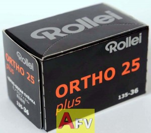 Film Rollei  ORTHO 25/135/36  04/2021