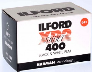 Film Ilford XP2  400/135/36  Proces C41 NOV 2022